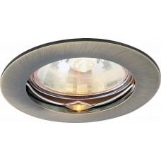 Arte Lamp Basic Бронза Светильник точечный встаиваемый 1x50W 1xGU10