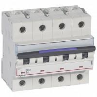 Legrand DX3 Автоматический выключатель 50кА 50А 4P D