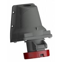 ABB Easy&Safe Розетка для монтажа на поверхность 332ERS6W, 32A, 3P+E, IP67, 6ч