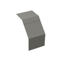 DKC Крышка на угол вертикальный внеш. 90° осн. 50, стеклопластик, стеклопластик