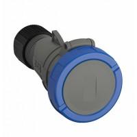 ABB Easy&Safe Розетка кабельная 216EC6W, 16А, 2P+E, IP67, 6ч