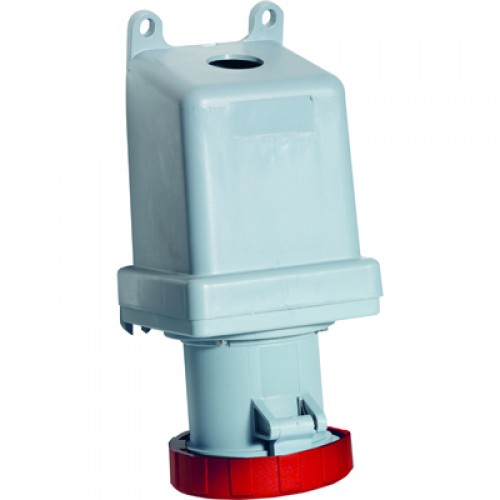 ABB RS Розетка для монтажа на поверхность 3125RS5W, 125A, 3P+E, IP67, 5ч