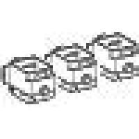SE Compact NSX Комплект клемм-защелок 95мм2 NSX100-160 (компл.=3шт.)