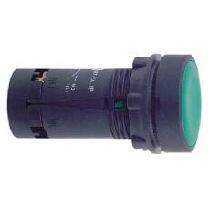 SE XB7 Кнопка с возвратом зеленая 1НО IP 54