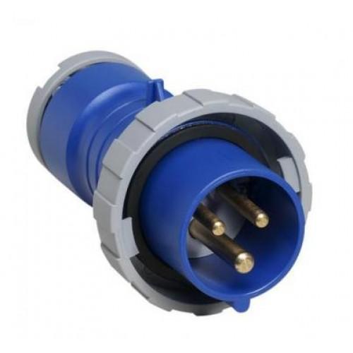 ABB Вилка кабельная 16А, 2P+E, 220V, IP67
