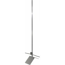 DKC Молниеприемник коньковый с угловым зажимом, 2000 мм