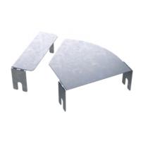 DKC Крышка для угла горизонтального изменяемого CPO 0-44 осн.400