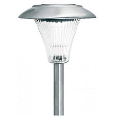 Navigator Светильник LED садовый столбик 1W сталь+пластик на солнечной батарее 125x390