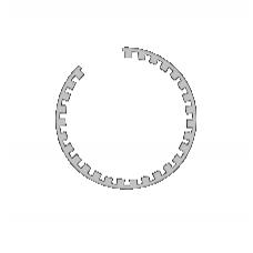 FEDE Золото Опорное кольцо для галогеновой лампы