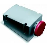 ABB RL Розетка для монтажа на поверхность с подключением шлейфа 332RL7, 32A, 3P+E, IP44, 7ч