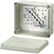 KF 9065 Коробка распред с клеммником без сальников УФ-защ.139x119x70 IP65
