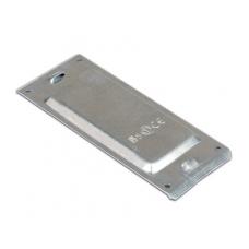 DKC Пластина защитная IP44 осн.80 (мет.), цинк-ламельная