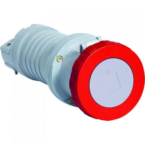 ABB C Розетка кабельная 4125C9W, 125А, 3P+N+E, IP67, 9ч