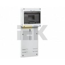 IEK Панель для установки счетчика ПУ3/2-8 3-фазн.(200x465x64мм) 8мод.