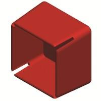 DKC Заглушка торцевая для одиночного профиля LAS и двойного профиля DBL/DBM