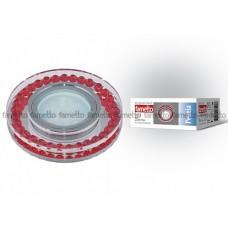 Uniel Fametto Peonia Светильник LED GU5.3 металл/ хром/стекло/прозрачный с элементами красного
