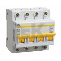 IEK Автоматический выключатель ВА47-29М 4P 6A 4,5кА х-ка D
