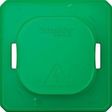 SE Merten Зеленая Крышка(колпачок) для защиты выключателей и розеток от загрязнения