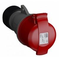 ABB Easy&Safe Розетка кабельная 316EC6,16А,3P+E,IP44,6ч