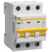 IEK Автоматический выключатель ВА47-29М 3P 6A 4,5кА (В)
