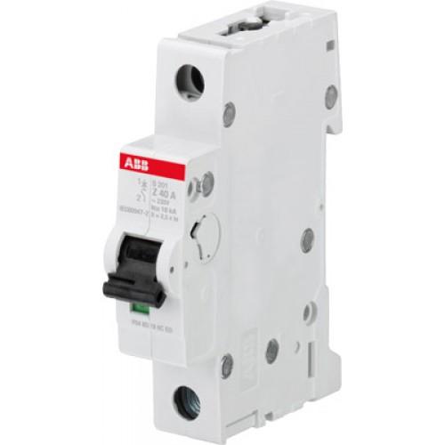ABB S201M Автоматический выключатель 1P 6А (Z) 10kA