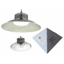 Volpe Светильник LED промышленный с облегченным корпусом c отражателем, цвет свечения белый. IP20 SILVER