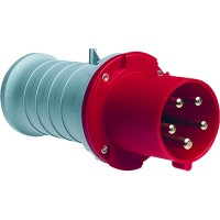 ABB P Вилка кабельная 363P9, 63А, 3P+E, IP44, 9ч