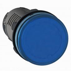 SE XB7 Сигнальная лампа, LED, синяя 220В