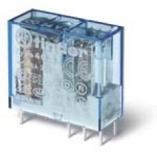 Finder Миниатюрные PCB-реле, выводы с шагом 5мм, Контакты AgNi, 2CO 8A, катушка АС