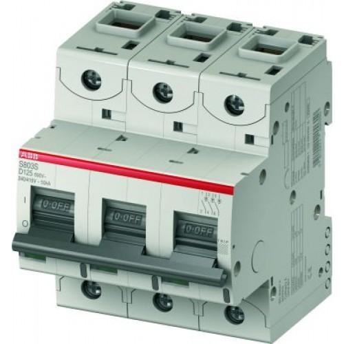 ABB S803C Автоматический выключатель 3P 10A (D)