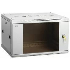 IEK ITK Шкаф LINEA W 15U 600x450 мм дверь стекло, RAL7035