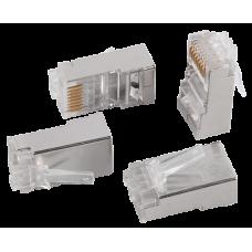 IEK ITK Разъём RJ-45 FTP для кабеля SOLID кат.6