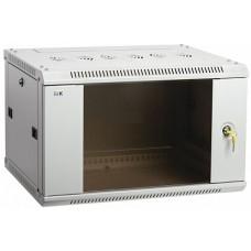 IEK ITK Шкаф LINEA W 9U 600x600 мм дверь стекло, RAL7035