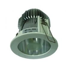 Briaton Светильник светодиодный встраиваемый Down Light 5Вт,нейтральный белый,D96xH125/белый,IP41