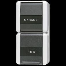 JUNG Комбинация-розетка универсальный выключатель, IP44