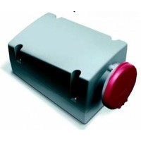 ABB RL Розетка для монтажа на поверхность с подключением шлейфа 332RL9, 32A, 3P+E, IP44, 9ч