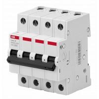 ABB Basic M Автоматический выключатель 4P, 40A,C, 4,5кА, BMS414C40
