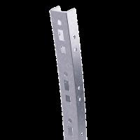 DKC Профиль криволинейный, L1129, толщ.2,5 мм, на 9 рожков, цинк-ламель