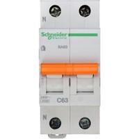 SE Домовой ВА63 Автоматический выключатель 1P+N 63A (C) 4.5kA