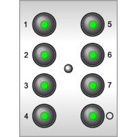 СТ Модуль 8-кнопочный 126