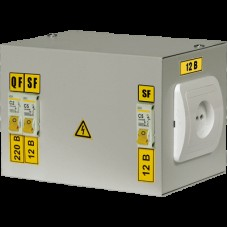 IEK Ящик с понижающим трансформатором ЯТП-0,25 220/12-3 36 УХЛ4 IP30