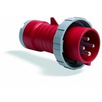 ABB P Вилка кабельная 332P3W, 32А, 3P+E, IP67, 3ч