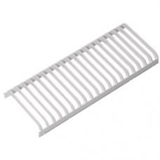 АСТЗ Решетка пластиковая ПК, белый, для ЛСО 2х18 - 2 шт, 2х36 - 4 шт, 2х58 - 5 шт., ЛБО - 4 шт.