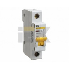 IEK Автоматический выключатель ВА47-29М 1P 6A 4,5кА (D)