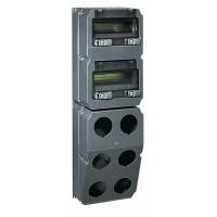 Legrand Hypra Сборный щиток с отверстиями для 6 разъёмов 16-32 А с рейкой DIN 740x230x181 мм
