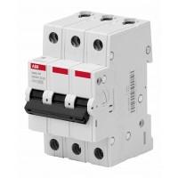 ABB Basic M Автоматический выключатель 3P, 63A,C, 4,5кА, BMS413C63