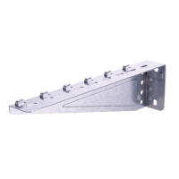DKC Консоль легкая для проволочного лотка осн.300 мм