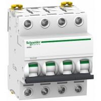 SE Acti 9 iC60H Автоматический выключатель 4P 1А (B) 10кА
