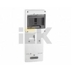 IEK Панель для установки счетчика ПУ1/2-7 1-фазн. (149х420х30 мм) 7мод.