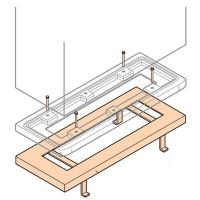 ABB Gemini Рама фиксирующая в для шкафа Gemini (Размер4)